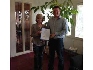 Checotah's Mayor Daniel Tarkington proclaimed the month of May as Carrie Underwood month in Checotah, OK!