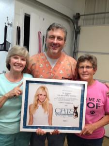 Carole, Dr. Robbins, Kate