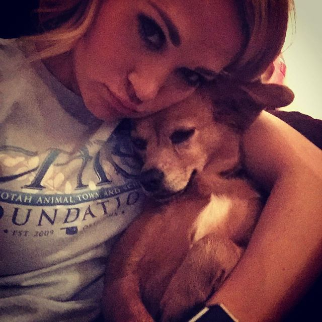 I mean, she is basically like a breathing, eating, kissing, digging, running, jumping, cuddly teddy bear! Sweet Penny Jean  #‎rescuedog #‎furbaby #‎cuddles